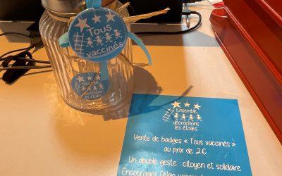 Des badges pour lutter contre les cancers pédiatriques