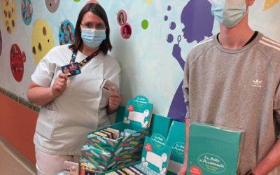 L'association «Les rêves de Lucas» fait don à la pédiatrie