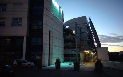 Le CH Calais en vert pour le don d'organes et de tissus