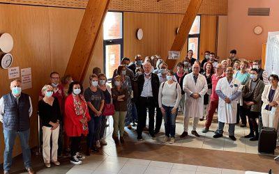 Clap de fin pour le centre de vaccination de La Roselière